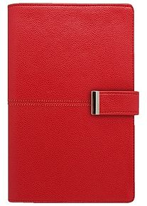 Agenda konstläder röd-5710