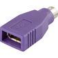 OEM Musadapter, PS/2 han til USB hun USB mus til PS/2 port