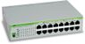 ALLIED TELESYN 16 port 10/100/1000TX unmanged switch, Silent Operation (Fanless)