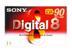 SONY 8mm Tape/ Digital 8 Metal Part 60min