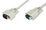 ASSMANN Electronic Kab VGA HD DSUB 15 3,0m M/M beige