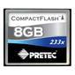 PRETEC Cheetah II CompactFlash 8GB 233x (transfer up to 35 MB/s)