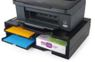 EXPONENT A4 Organizer/Stand for printers, MFP's and monitors (black, 4 shelves)