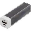 DELTACO Powerbank,  2600mAh, USB 5V 1A,svart (PB-1015)