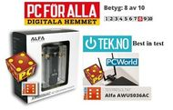 Alfa Network AWUS036AC 802.11ac Wi-Fi USB adapter Frequency 2.4GHz / 5GHz (AWUS036AC)