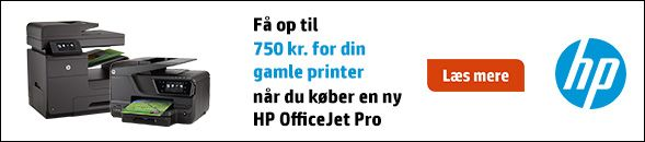Få op til 750 kr. for din gamle printer.