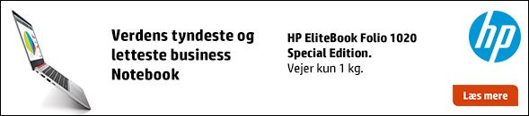 NYHED: HP EliteBook 1020 Special Edition.
