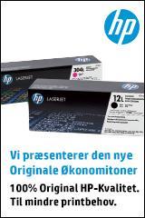 HP præsenterer den nye Originale Økonomitoner.