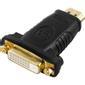 OEM HDMI adapter, HDMI A han - DVI-D hun Dual link