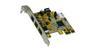 EXSYS FireWire 1394B, PCI-Exp. LP, EX-16415-L 2x9 pin, 1x6 pin ekstern. Lavprofil