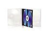 TNB TnB CD Jewel Case til 2 CD - 5 pak, Sort tray