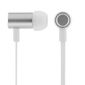 STREETZ in-ear hörlurar med mikrofon, svarsknapp, IP67, 1,2m, vit