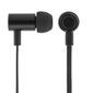 STREETZ in-ear hörlurar med mikrofon, svarsknapp, IP67, 1,2m, svart
