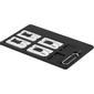 STREETZ SIM-kortsadapter kit för standard/micro/nano-sim, svart