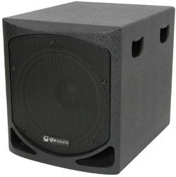 QTX QLB15A Active Sub 15in 200W RMS Aktiv subwoofer med 1000w Max