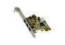 EXSYS FireWire 1394B, PCI-Express, EX-16415 2x9 pin, 1x6 pin ekstern. 1x9 int. Exsys