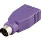 DELTACO Adapter PS/2 ha till USB ho för möss & tangentbord