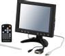 """DELTACO 8"""" TFT-färgskärm, touchscreen, fjärr, penna, ljud, USB, VGA"""