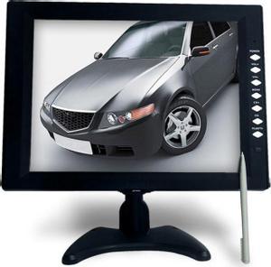 """DELTACO 12,1"""" TFT-farveskærm med touchscreen, fjernbetjening, pen, lyd, VGA-/"""