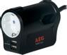 AEG PROTECT Travel, överspänningskydd, 1xCEE 7/4, 2xIEC 60906-1, USB