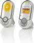 MOTOROLA babymonitor för ljud, tvåvägsljud, display, vit