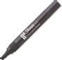 SHARPIE permanent märkpenna, svart, W10, sned, 12-pack, svart