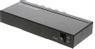 METO SDI-splitter en till fyra, 3G/HD-SDI, 1080p, 12 bit, BNC, metal, svart
