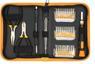 SPROTEK STD-5835, precisionsbitssats med bitsmejsel, 30 bits, gul/sv