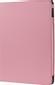 DELTACO fodral för iPad Air2, kreditkortshållare, resårlåsning, rosa