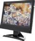 """DELTACO 15,4"""" TFT-farveskærm, 1280x800, fjernbetjening, VGA/USB/AV/HDMI, sort"""