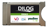 DILOG CA-Modul för YouSee i Danmark, DVB-C, CI+, HD