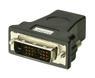 LINDY Adapter HDMI Kontakt - DVI Plugg HDMI Kontakt (Hun) - DVI Plugg (Han)