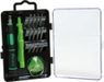 PROSKIT verktygsväska för Apple-produkter, 16 delar, svart