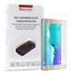 PAVOSCREEN Skärmskydd i härdat glas för Samsung Galaxy S7 Edge, guld