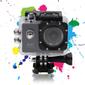 "DELTACO A12 Sportkamera, 2"" display, UltraHD, micro-SD kortplats, wifi, svart"