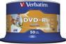 VERBATIM 16x DVD-R disc 4,7GB Wide Print (Advanced AZO) 50-pack Cake Box