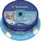 VERBATIM CD-R Verbatim 700Mb 52x print spind (25)