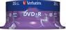 VERBATIM DVD+R Verbatim 4.7Gb 16x spindle (25)