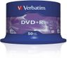VERBATIM 16x DVD+R 4,7GB 50-pack (Advanced AZO) Cake Box