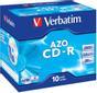 VERBATIM CD-R/700MB 80Min 52x SupAZO JC 10pk