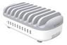 ORICO 10-ports USB-A laddstation, 120W, 5V 2,4A, vit