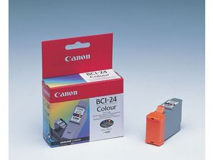 CANON BCI-24C INK CART COLOR F/ S200/300/330 I320 MPCS200 NS