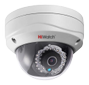 HIWATCH 1MP dome nätverkskamera, 720p, 2,8mm F2.0, IP66, IR, vit