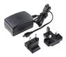 Stontronics Raspberry Pi officiell Micro USB nätadapter EU-UK plug 5,1V 2,5A svart
