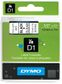 DYMO D1 TAPE 1/2IN X 23FT BLK PRINT CLEAR TAPE