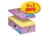 POST-IT POST-IT® SuperS 76x127mm økonomi gul(16)
