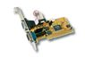 EXSYS EX-41052, 2 x ser. 3,3V & 5V 64/32-bit P&P, 2 x DB9M plugg, 16C550