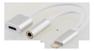 EPZI Lighting to sound adapter silver