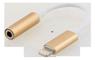 EPZI Lighting to sound adapter gold