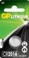 GP LITHIUM BUTTON CELL CR2016